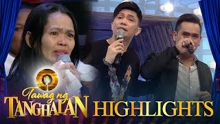Tawag ng Tanghalan: Vhong shoulders Marco Adobas and his mother's Valentine date