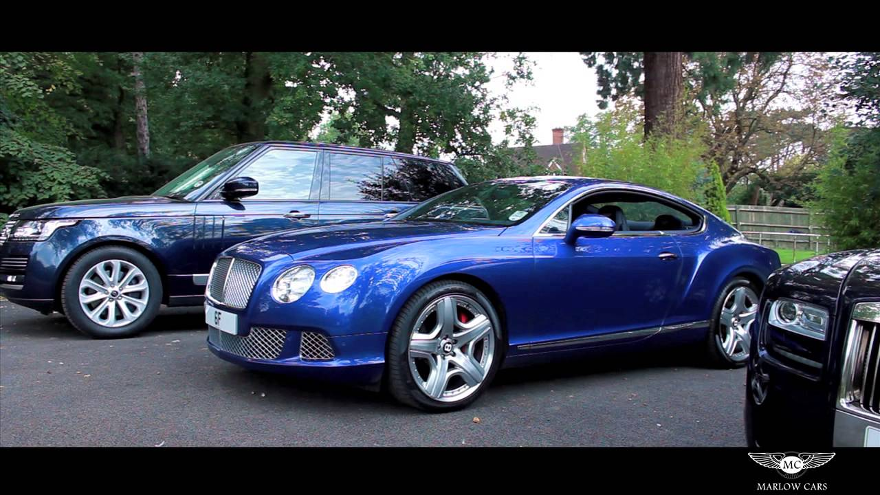 Bentley Continental Gt Marlow Cars Youtube