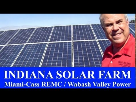 Interview at Solar Energy Farm in Peru, Indiana a Road Trip With Mom Graham