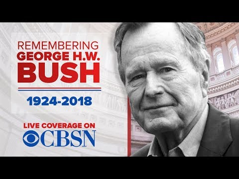 President George H.W. Bush funeral: Watch live from the National Cathedral in Washington, D.C.