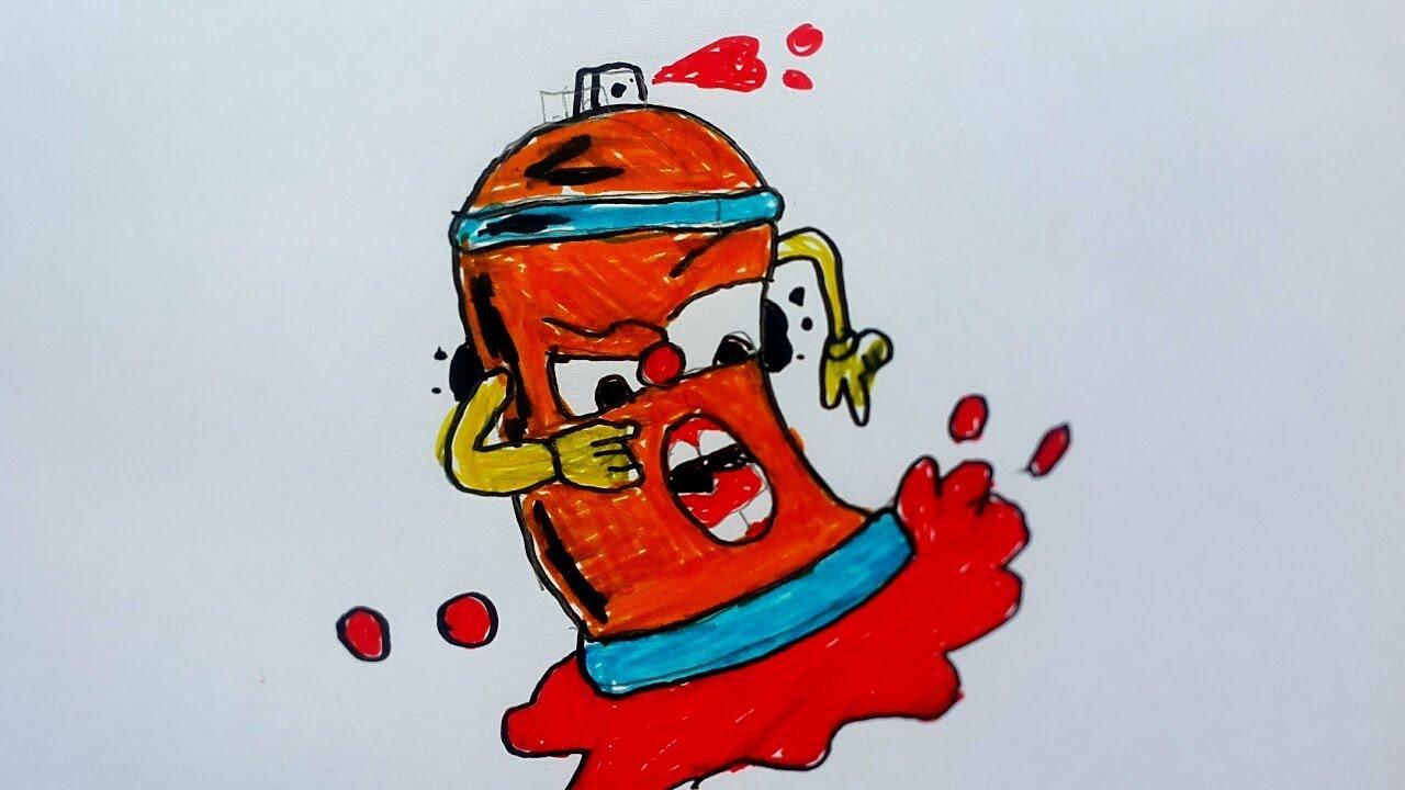 Graffiti Gambar Pilox