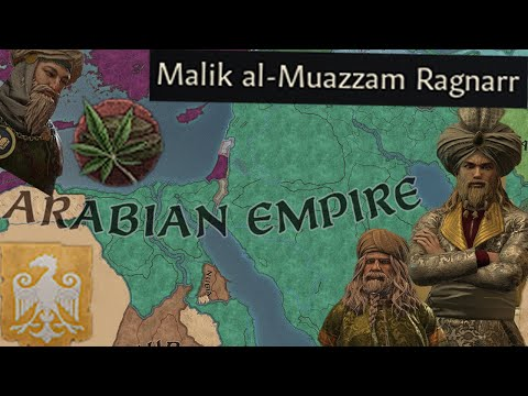 How a Viking Count became the Caliph of the Arabian Empire, Going Places Crusader Kings III |