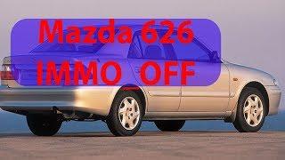 отключение иммобилайзера RF4D, mazda 626