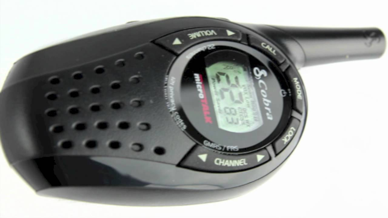 cobra 20 mile walkie talkies cxt235 youtube rh youtube com Cobra MicroTalk User Manual cobra microtalk cxt235 manual español