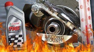 Castrol TWS 10W60 Motorsport Jak skutecznie olej chroni silnik? 100°C