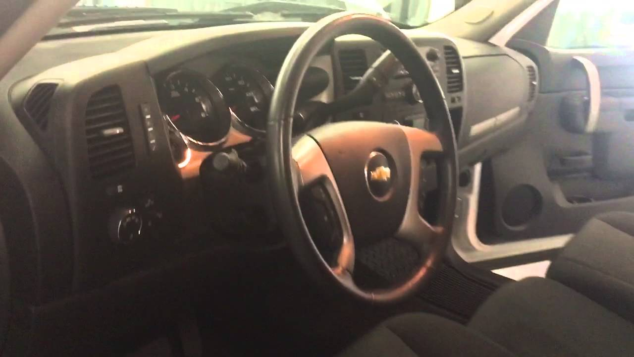 2012 Chevy Silverado interior  YouTube