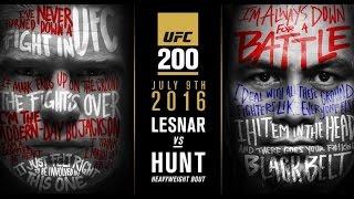 UFC 200: Brock Lesnar vs. Mark Hunt