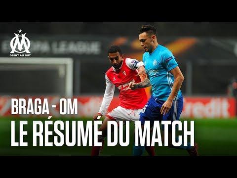 SC Braga 1 - 0 OM  | Le résumé du match