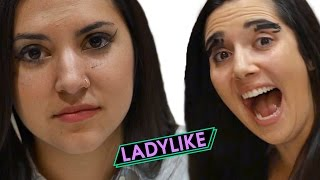 could you do makeup in the dark ladylike