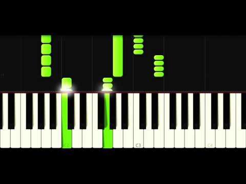 Atemlos durch die Nacht (Helene Fischer) Piano Tutorial Free Sheet Music and Midi-Files