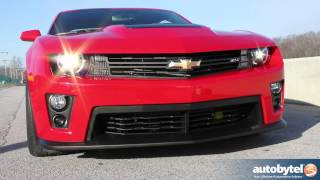 2012 Chevrolet Camaro ZL1 Track Test Drive & Muscle Car Video Review