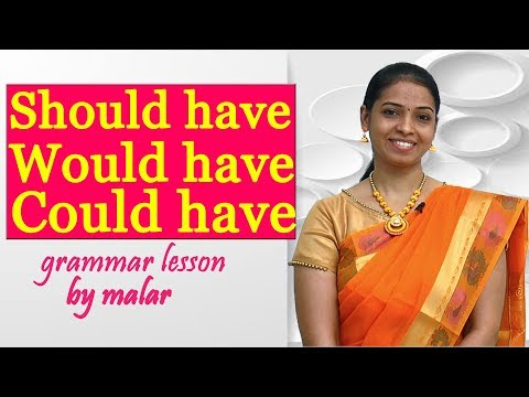 Usage of Should have / Could have / Would have in Tamil # 44 - Learn English with Kaizen