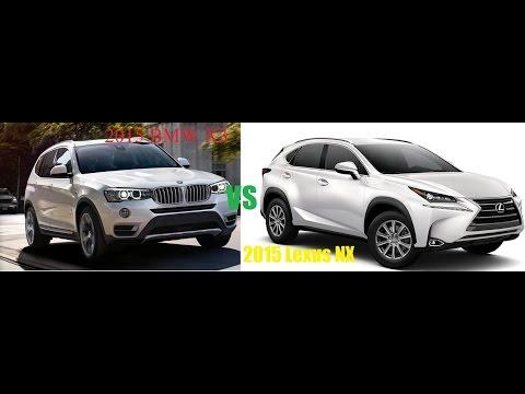 2015 Lexus NX SUV VS 2015 BMW X3 Crossover Review