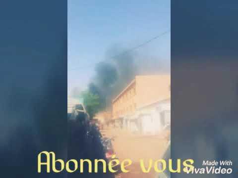 Burkina ALERTE : Une attaque armée est en cours présentement dans la ville de Ouagadougou.