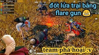 PUBG Mobile - Vừa Chặn Cầu Thì Có Shiper 2 Súng Flare Gun :3 | Có Luôn Combo MK14 + M24