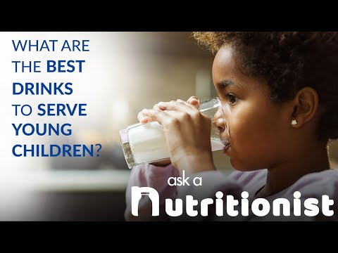 What Are the Best Drinks to Serve Young Children?