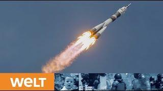 Traumstart zur ISS: Alexander Gerst ist auf dem Weg zur Internationalen Raumstation