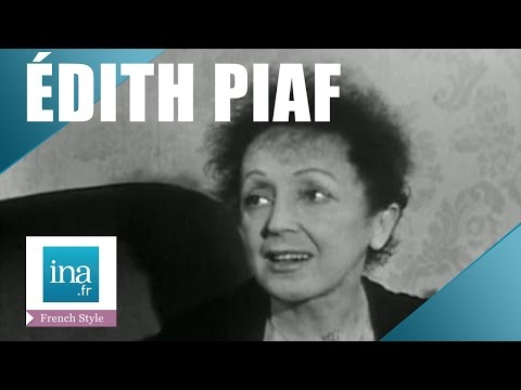 """Edith Piaf """"The secret of my love songs » 