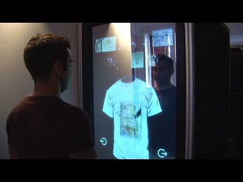 interactive mirror le miroir tactile youtube