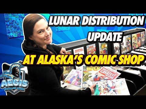 Lunar Distribution Update For Alaska's Comic Shop