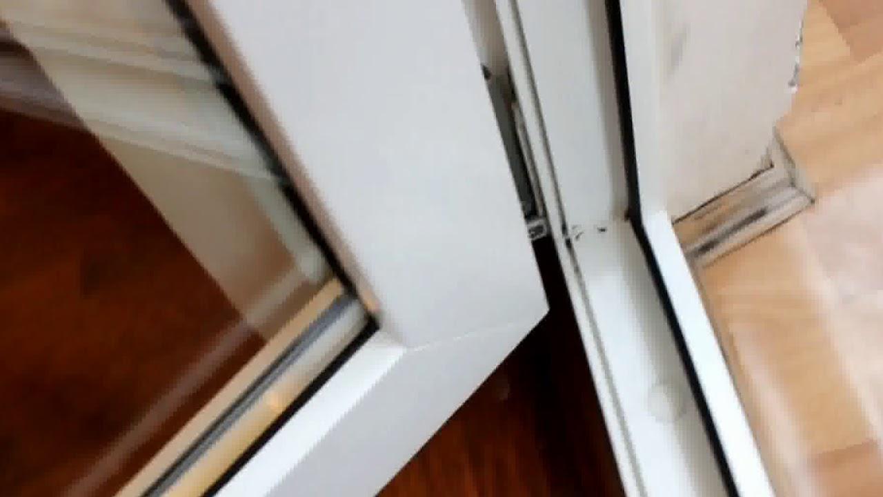 Регулировка пластикового окна и балконной двери своими рукам.