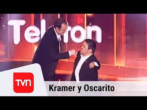 Kramer y Oscarito desataron las risas en la obertura de la Teletón | Teletón 2017