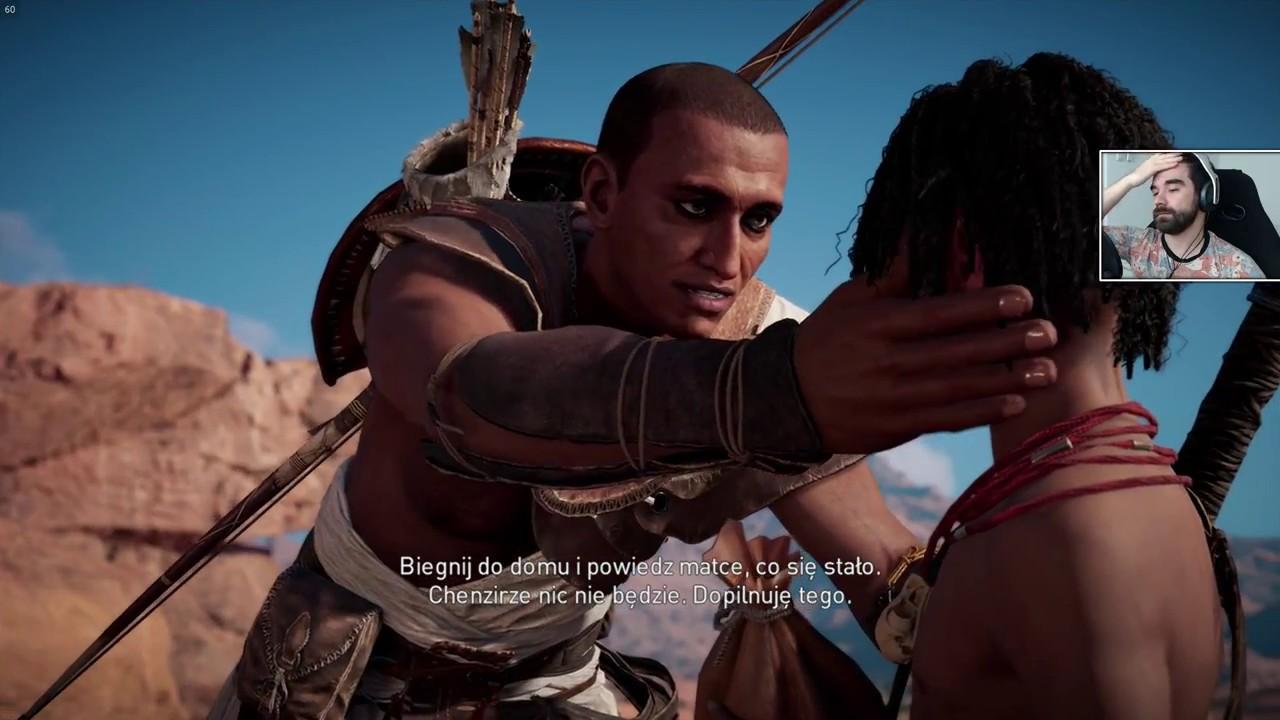 Assassin's Creed Origins #2 – Siwa na 100% [fabuła/poboczne]