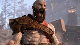 GOD OF WAR 4: Обзор игрового процесса E3 2016
