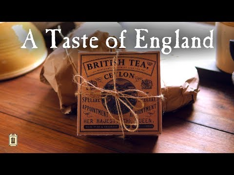 Unboxing a Food Parcel from Great Britain