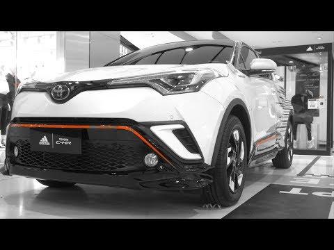 Toyota C-HR 1.5 HV | Adidas Inspired Design (White Version)