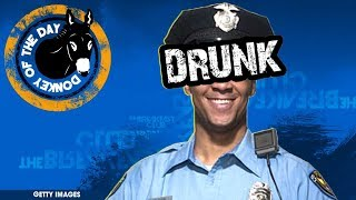 Detroit Cop Volunteers For Breathalyzer Demonstration, Except He Was Drunk