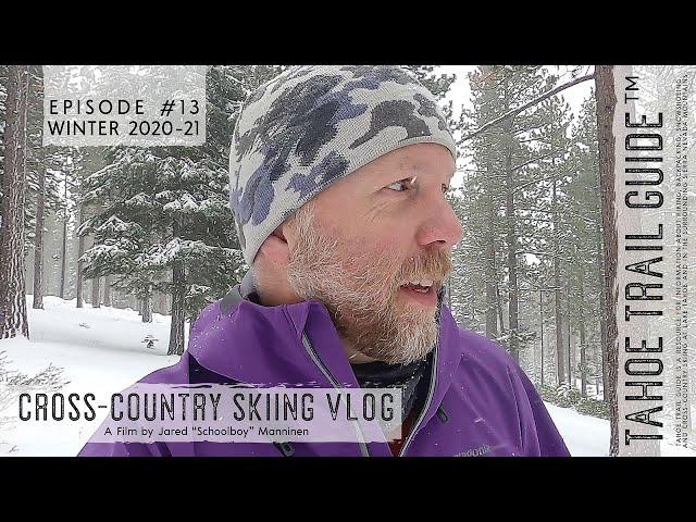 Outdoor VLOG 13: Fresh Snow and a Short XC Ski Tour
