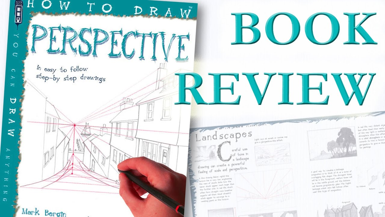 how to draw perspective book