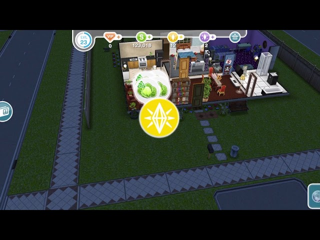 Negotiate With a Sim Eating Plant/The Sims Freeplay