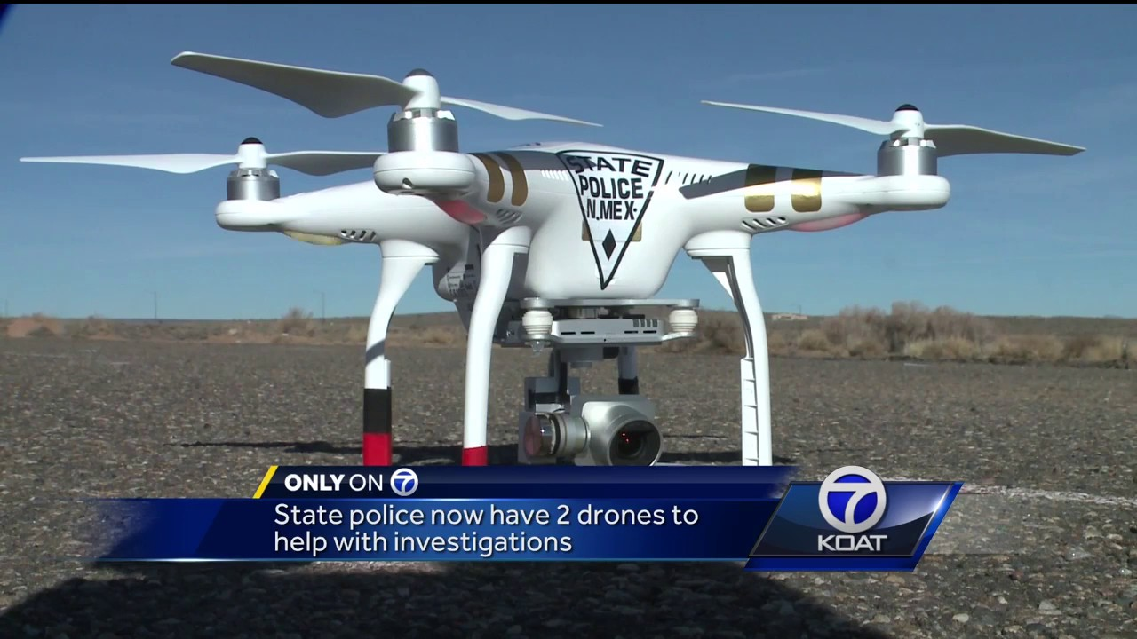 VIDEO State Police Using Drones