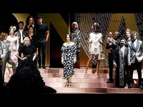 Dolce&Gabbana Spring Summer 2019 Women's Fashion Show