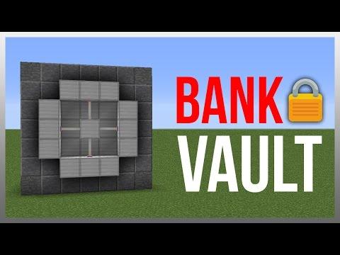Minecraft 1.12: Redstone Tutorial - Ultimate Vault! (Store Valuables)