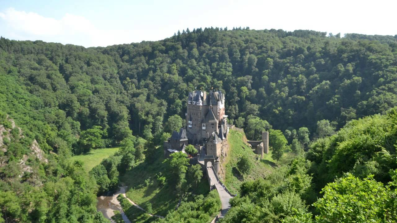 castles in germany: burg eltz castle history - youtube