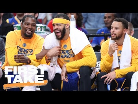 Stephen A. Complains About Warriors Dominating In Playoffs So Far | First Take | April 25, 2017