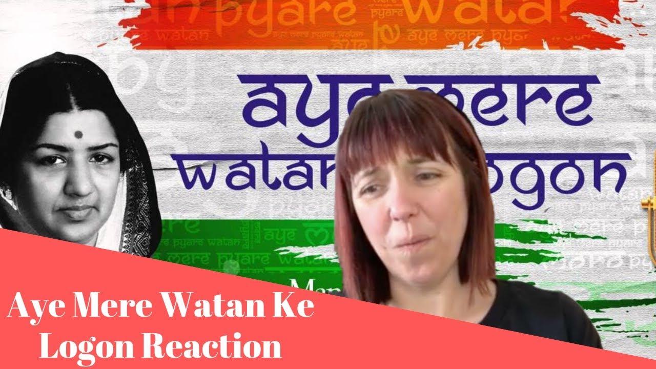Download Aye Mere Watan Ke Logon REACTION! Happy Independence Day!