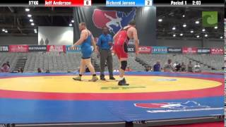 C Division 97KG - Jeff Anderson vs. Richard Jensen