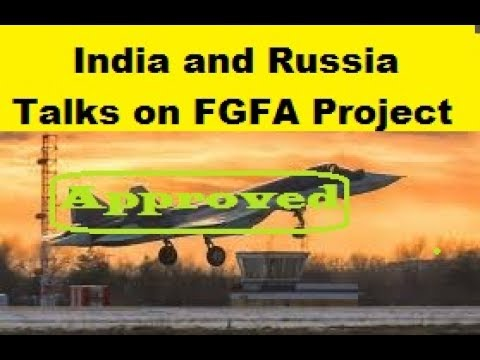 India and Russia Resume Talks on FGFA co-development of Fifth Generation Fighter Project