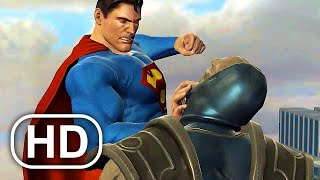 Superman Vs Darkseid JUSTICE LEAGUE Fight Scene FULL BATTLE 4K ULTRA HD - MK VS DC Cinematic