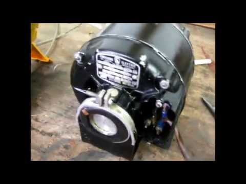 Emerson A56 Split Phase Ac Induction Motor Youtube