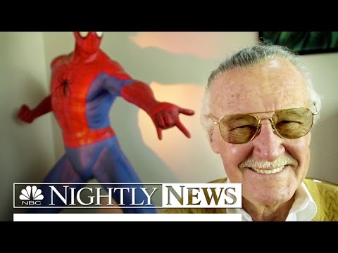 Marvel Legend Stan Lee On 'Amazing Fantastic Incredible' Life | NBC Nightly News