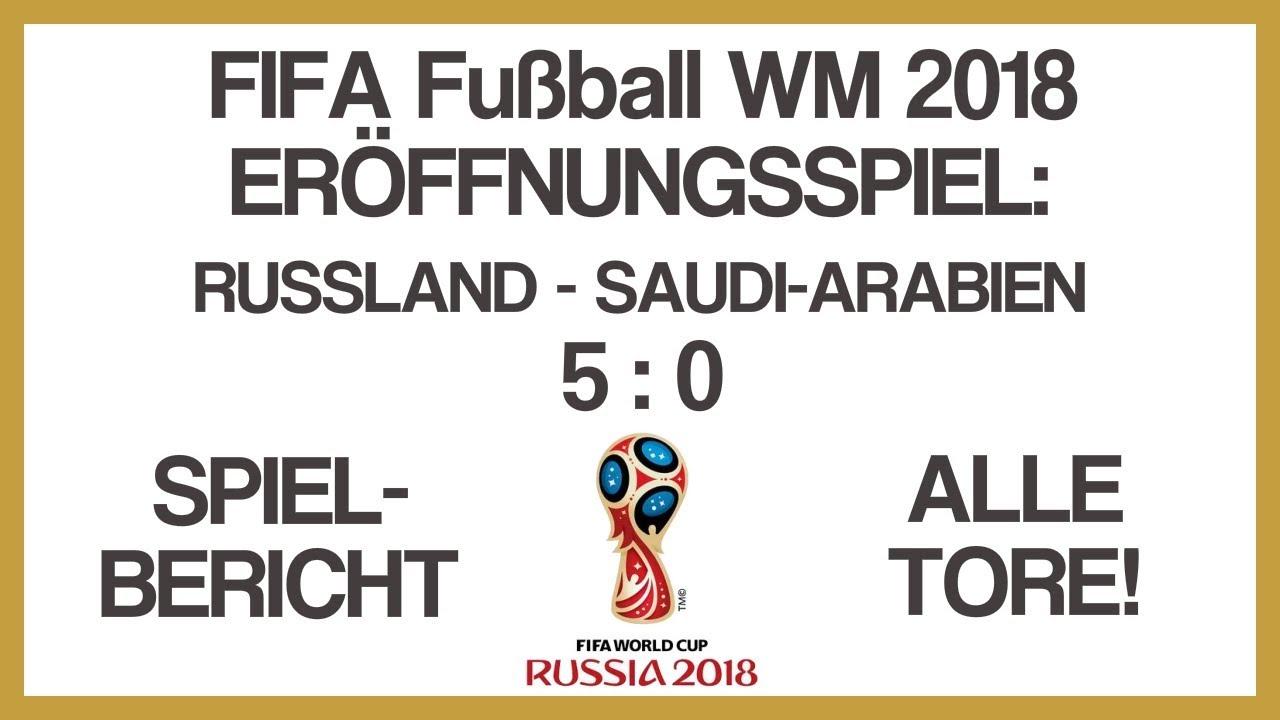 Russland Saudi Arabien Tore