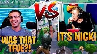 Nick Eh 30 Vs Tfue in Pro Squad Scrims! Fortnite Highlights