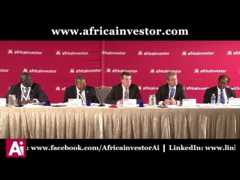 Albert Essien, CEO, Ecobank, chairs a panel at the Ai CEO Investment Summit 2014