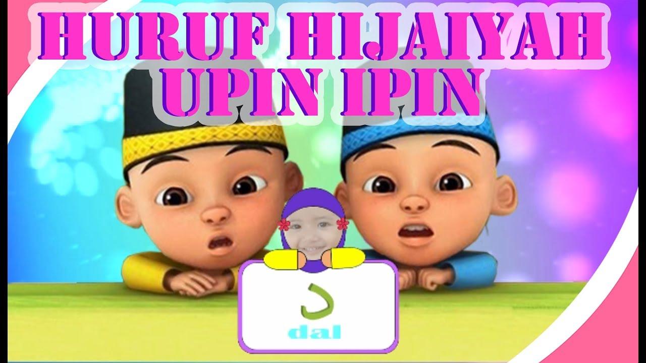 video lagu huruf hijaiyah upin ipin