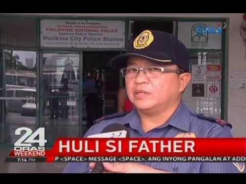 Huli si father dahil sa pambubugaw sa isang dalagita.